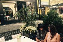 Street fashion / Street fashion Black hat