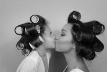 mother + daughter photography