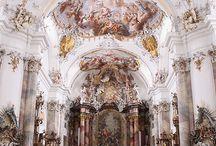 Ottobeuren Abbey, Germany.