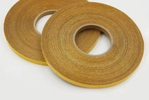 Doubleside filament tape / Peel adhesion at 180°:			40N/inch  			D 3330	 Initial adhesion:			8#			D 3759	 Holding Power:			>72h			D 3654	 Total Thickness:			200mu			D 3652