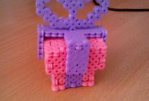 Hama Beads - Compleanno