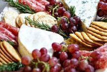 Christmas party platters & food