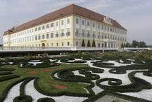 Barokní zahrada vzory