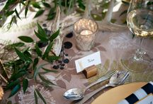 Wedding | Table Details / Details matter! It's the little details that bring a table to life and make your guests' experience extra special!
