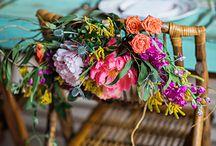 Jessica March 9 floral board