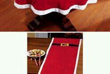 toalha natal