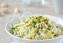 Riz / Ah j'en riz matin, midi et soir. Le riz, on peut en faire un accompagnement ou on peut en faire tout un plat. Tout ça pour le plus grand bonheur des papilles.