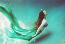 Mermaids and Sea Creatures / The magic of Mermaids and sea creatures.  / by Joyce Cherrier