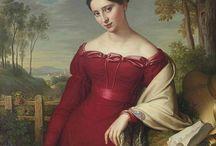women's portraits 1820s
