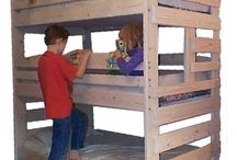Bunk bed ideas / by Rebecca Hunt
