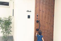 玄関 表札