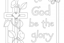 Biblical coloring pages / by Vickie Stone Chafin