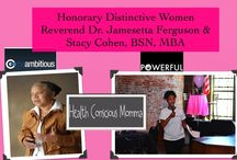 Honorary DW Women / These women display the traits of a DW.  They were selected to be DW Honoraries!!