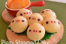 Piggy stream cake