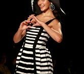 Black and White Style / Back to basics: The timeless, graphic chic of black and white