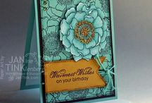 Card Making Inspiration / A collection of ideas for cardmaking that I'd like to try.