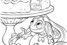 coloring pages 10 (rapunzel)