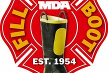 Upcoming fill the boot / Every year the IAFF Affiliates hit the streets to fill the boot for MDA! This year our Dates in Montgomery county are 9-2 through 9-4.. Please help us help children who live in Montgomery county stricken with this horrible disease get what they need to live a normal life!