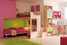 Ella and Kate Room Ideas / by Heather Jensen
