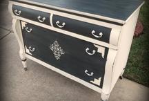 idées peintures   meubles