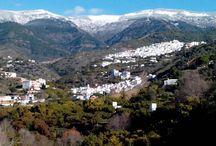 La Maroma en invierno / La Maroma, la montaña mas alta de la provincia de Malaga, en invierno.