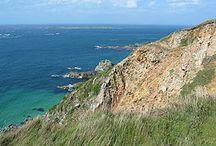 Kanaaleilanden / Een groep Britse eilanden voor de kust van Frankrijk