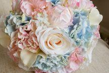 hortensja bukiet ślubny / bridal bouquet hydrangea / bukiet ślubny z hortensji