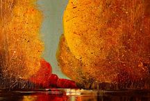 Painting Justyna Kopania