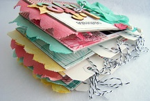 Scrap Albums,Books & Journals / by Kathryn Allen