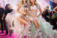 Backstage the Victoria's Secret Fashion Show