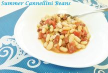 Summer Cannellini Beans / Summer Cannellini Bean Kitchen Wisdom Gluten Free Recipe http://kitchenwisdomglutenfree.com/2015/09/07/summer-cannellini-beans-forget-what-you-know-about-wheatc-2015/