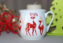 Porcelanowe kubki/ Porcelain mugs