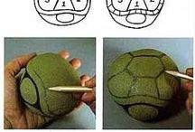 Painted rock turtle how to do