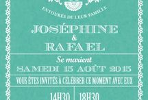 Cartons invitation