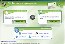 Disk Doctor's Email Recovery (DBX) Software