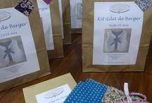 Kits couture La Boutik' / Kits couture créés par la Boutik' Créative