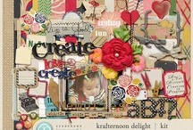 scrapbook kits I want