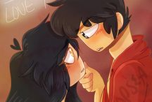 Aphmau ships and Aaron being cute with her.