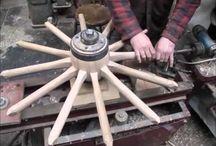 koła drewniane