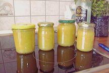 Marmelade und Saft