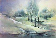 Art: Hanna Jakobsen watercolors