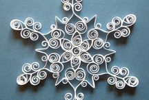 Origami fiocchi neve