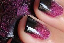 Nails on a chalkboard pretty in polish. / by Kayla Bowers