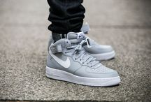 "Nike Air Force 1 Mid 07 ""Wolf Grey"" (315123-033)"