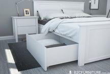 beds łóżka bedroom sypialnia