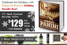Give Holiday Gifts Galore with Organic Authority's 2013 Holiday Goodie Box! / by Organic Authority