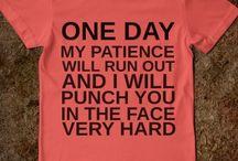 T-shirts i need