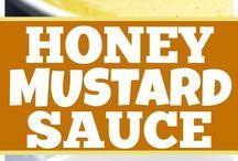 σως μέλι μουστάρδα