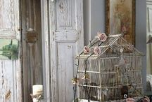 shabby cages