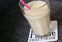 Smoothies and juices / Smoothies, lekkere sapjes en shakes